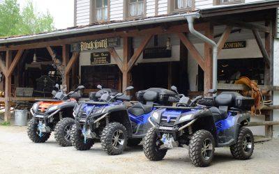 Zurück vom Quad- und ATV-Treffen in der Pullman City