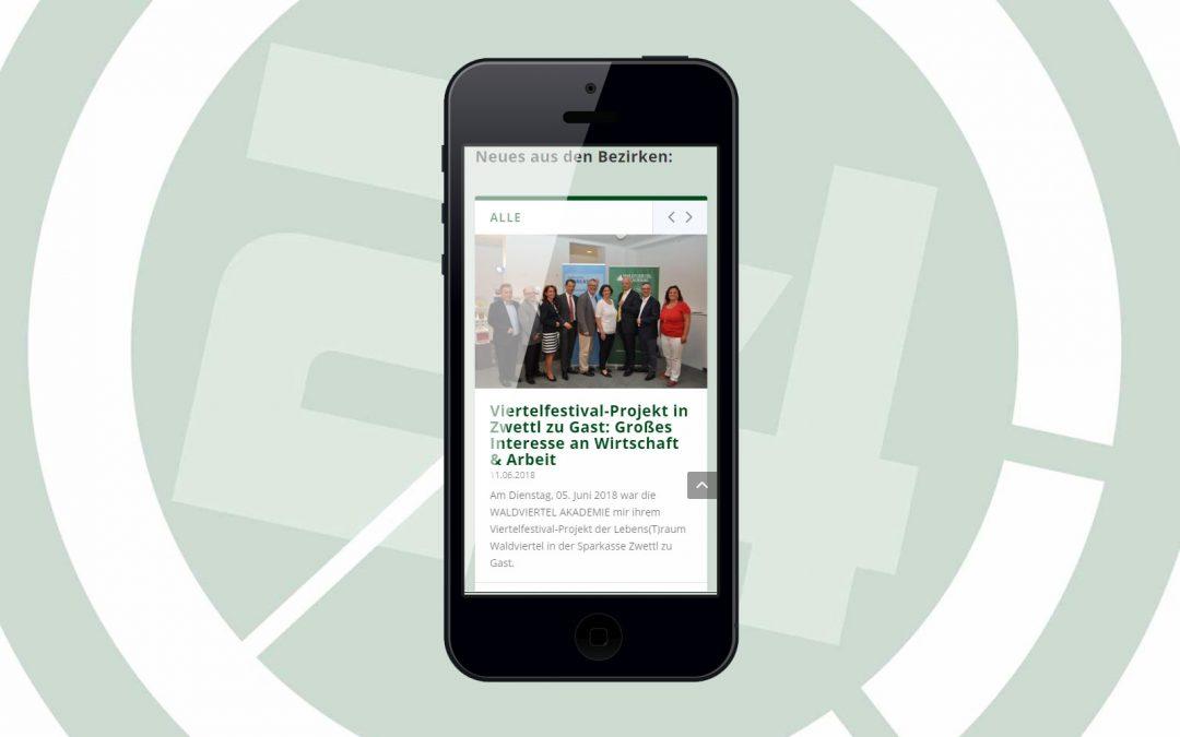 waldviertelnews.at in neuem Design