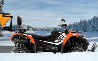 10 Gründe für ATVs im Winterdienst