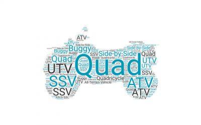 Was ist der Unterschied zwischen Quad, ATV, UTV,…?