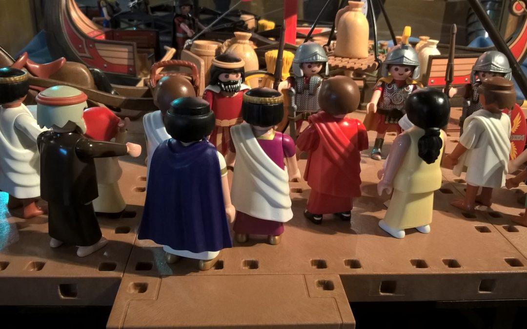 """Der """"Playmobil-Heilige"""" aus Mautern"""