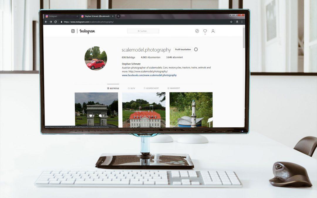 Fotos vom PC auf Instagram hochladen – mit einer kostenlosen Software, die fast jeder hat