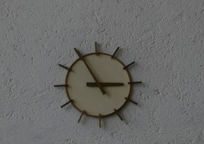 Uhr im Kraftwerk Ybbs-Persenbeug