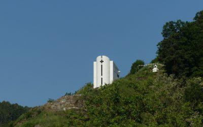 Unterwegs zu Friedenskapelle und Burgruine Imbach