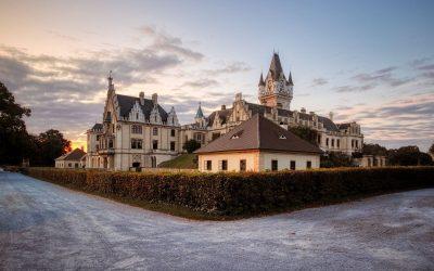 Morgenspaziergang im Grafenegger Schlosspark