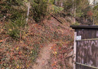 Aufstieg zur Hiesbergwarte