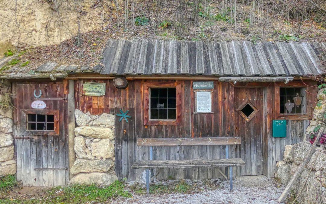 Zum Parapluiberg und zur Wohnhöhle bei Nußdorf ob der Traisen