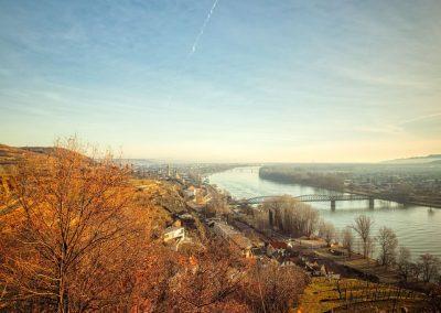 Blick vom Pfaffenberg Richtung Krems-Stein