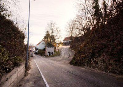 Abzweigung zur Wachtbergstraße