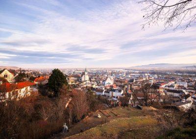 Blick vom Wachtberg auf Krems