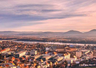 Blick auf den Campus Krems