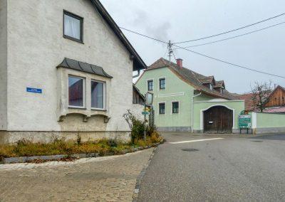 Abzweigung zur Schlossstraße